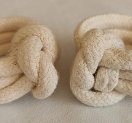 Ronds de serviette en cordes
